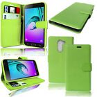 Wallet Book Flip Leather Case Cover For Various Alcatel & Huawei Mobile Phones