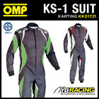 SALE! KK01721 OMP KS-1 KS1 KART KARTING SUIT CIK-FIA LEVEL 2 SUIT MODERN DESIGN