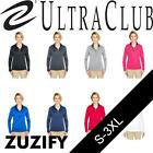UltraClub Ladies Cool & Dry Sport 1/4-Zip Pullover. 8230L