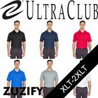 UltraClub Mens Tall Cool & Dry Mesh Pique Polo Shirt. 8210T