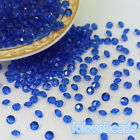4.5mm 1/3CT Royal Blue Acrylic Diamond Confetti Wedding Decor Table Scatters