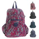 Big Handbag Shop Unisex Travel Lightweight Rainproof Fabric Backpack Rucksack