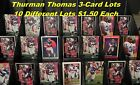 THURMAN THOMAS Buffalo Bills _ 3 Cards for $1.50 _ Purchase 15 Mail FREE USA