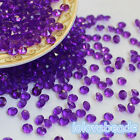 4.5mm Purple Pointed Acrylic Diamond Confetti Wedding Party Table Scatters