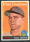 1958 Topps #92 Clint Courtney EXMT 96341