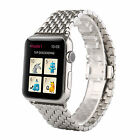 Butterfly Lock Link Bracelet Stainless Steel Band Strap for Apple Watch 38/42mm