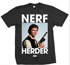 Star Wars Nerf Herder Han Solo Harrison Ford Official Tee T-Shirt Ladies Mens £14.99 GBP