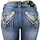 $100 Miss Me Women's Boot Cut Jeans MW7541B MK 294 Size 30