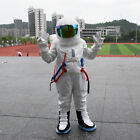 Spaceman Mascot Costume Astronaut Halloween Party Dress Adult Size Free Shipping