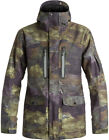 QUIKSILVER DARK AND STORMY JACKET WOODLAND