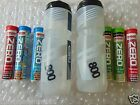 2 x RSP WATER DRINKS BOTTLE BOTTLES + HIGH5 40 ZERO TABLETS