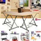 Modern Home Office Study Laptop Desk Computer PC Table Worksation Bookshelf  AU