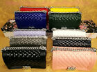 Women Fashion Jelly Diamond Lattice Chain Bag Messenger Crossbody Shoulder  Bag