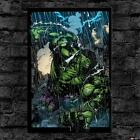 Oil Painting HD Print Wall Decor Art on Canvas The Incredible Hulk Unframed