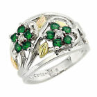 Landstrom's® Black Hills Gold on Silver Emerald May Birth...