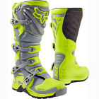 New FOX Racing Comp 5 2017 Yellow Grey Youth MX Offroad Dirtbike Boots
