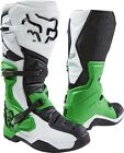 NEW FOX Racing Comp 8 SE White Green  MX Motocross Special Edition Adult Boots