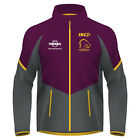 NRL 2017 Weather Jacket - Brisbane Broncos - Mens Ladies Kids - Wet Rain - BNWT