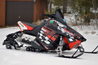 POLARIS RUSH PRO RMK 600/800 SLED SNOWMOBILE GRAPHICS KIT 2010 - 15 #3500Red