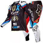 New FOX Racing MX 2017 360 ROHR Black Motocross Jersey Pants Outfit