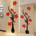 3D Removable Art Vinyl Quote Flower Wall Sticker Decal Mural Home Room Decor Hot