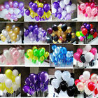 New 100pcs/lot 10inch Latex Balloon Helium Thickening Party Wedding Supplies