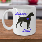 Boxer Mug - Boxer Dad - Cute Coffee Cup Gift For Boxer Dog Lovers
