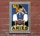 Aries Automobiles - Vintage Automobile Advertisment Poster