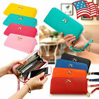 Hot Sell Lady Women Leather Clutch Wallet Long Card Holder Case Purse Handbag US