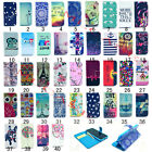 Card Slot Flip Stand Magnetic Wallet Leather Case Bumper Cover for iPhone Skin