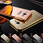 new Luxury Mirror Back Cover Metal Aluminum Frame Case for Samsung J5 Prime