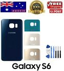 Samsung Galaxy S6 Back Rear Glass Housing Battery Cover Case + FREE TOOLS