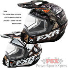 FXR Toque X Squadron RealTree Snowmobile Helmet NON-Electric
