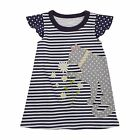 Mud Pie Daisy Cat T-Shirt Dress Toddler Girls 2T-5T #1142204