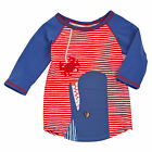 Mud Pie Whale Rash Guard Size 6M-5T #1052169 NWT