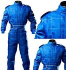 Fireproof / Flame Retardant GO Kart-Autograss Bangers Mechanic Suit-Blue and Red
