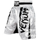 Venum Elite Boxing Shorts - White/Black