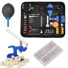 21 Watch Repair Tool Kit Case Opener Hand Remover Spring Bars w Case DKVP