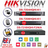 HIKVISION 4 8 16 CHANNEL DVR Recorder HDMI DS-7204/7208/7216HQHI-F1/N AHD HDTVI