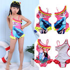 Frozen Elsa Anna Swimwear Swimsuit Kids Bathing Girls One-piece Hot Tankini Baby