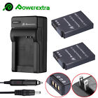 EN-EL12 1500mAh Battery +Charger For Nikon Coolpix AW110 S6000 S6300 S8200 S9200