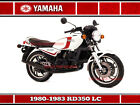 YAMAHA RD350 LC 1980 SIGN. GREAT FOR ANY WORKSHOP GARAGE OR BIKE ENTHUSIAST