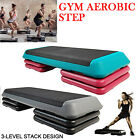 Deluxe 110cm Pro Aerobic Gym Step Platform Board / Exercise / Ab Fitness Stepper