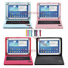 """Bluetooth Keyboard PU Leather Case Stand Cover for for LG G Pad X 10.1"""" V930"""
