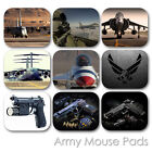 ARMY CUSTOM MOUSE PAD MILITARY GUN RIFLE USAF PERSONALIZED MOUSEPAD  (MM-07)