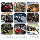 MOTORCYCLE CUSTOM MOUSE PAD SPORT BIKE FRIENDS PERSONALIZED MOUSEPAD  (MM-03)