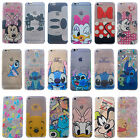 Lovely Disney Cartoon Mickey Clear Slim TPU Case Cover For iPhone 5s 6s 7 Plus