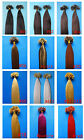 """100S 200S Pre Bonded U/NAIL Keratin Tip Remy Human Hair Extensions Straight 16"""""""