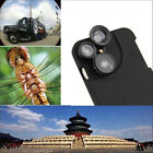 4-in-1 Wide Angle Macro Fisheye Telephoto Camera Lens Case for iPhone 6 6s Plus