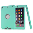 For iPad 2 3 4 /Mini /Air /Pro Shockproof Silicone Soft Rubber Light Case Cover